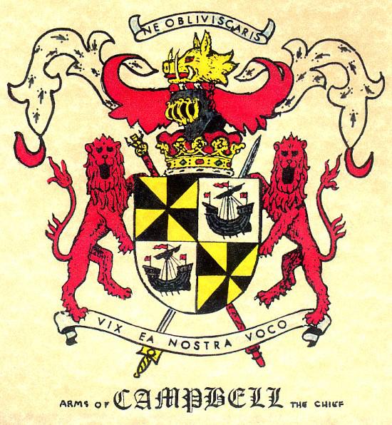 Duke of Argyll Coat of Arms