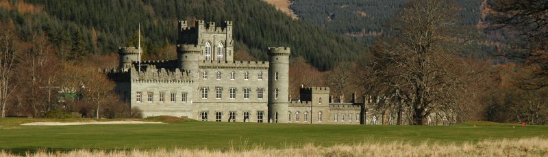 Taymouth Castle Front view 1
