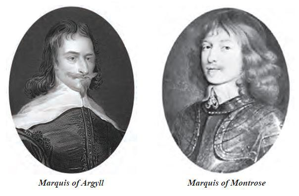 ​ Photo Marquis of Argyll and Marquis of Montrose