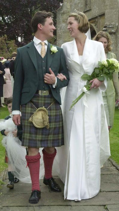 13th Duke and Duchess of Argyll Wedding